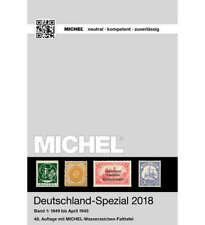 MICHEL Katalog Deutschland-Spezial 2018 Band 1 in Farbe