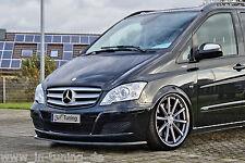 Spoilerschwert Frontspoiler Cuplippe aus ABS Mercedes Viano W639 V639 mit ABE