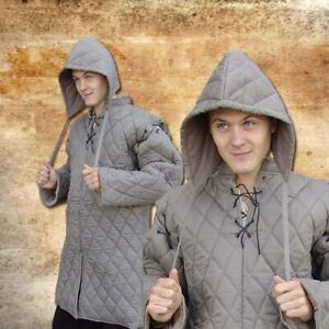free Coif fitting medieval Gambeson LARP COSTUME HALLOWEEN GIFT