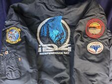Independence Day ID4 Movie Jacket Bomber 90s Aliens Visual Effects Crew CGI GUC