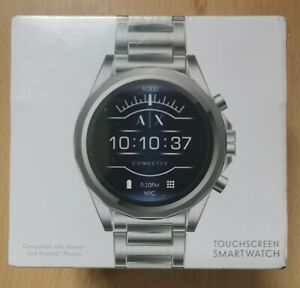 Armani Exchange Connected Smartwatch  OS by Google & HR,GPS & Google Pay.