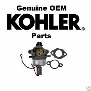Genuine Kohler 12-853-179-S Carburetor Kit with Gaskets OEM
