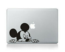 Macbook 13 Inch Decal Sticker Disney Mickey Mouse Peeking Art For Apple Laptop