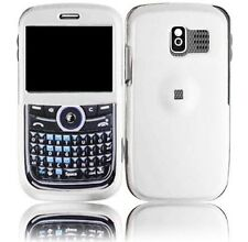 Hard Rubberized Case plus for Pantech Link P7040 - White