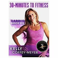 Kelly Coffey-Meyer: 30-Minutes to Fitness - Cardio Quick Fix (DVD, 2014)