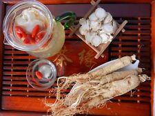 China Fine Quality Tonic Dry White Radix Panax Ginseng Whole Root  6 - 8 years
