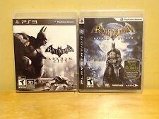 Batman: Arkham Asylum & Arkham City - Playstation PS3
