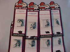 80 NEW BLUE  bad dog FISHING sproat HOOKS SIZE  6 8 10 12 red green