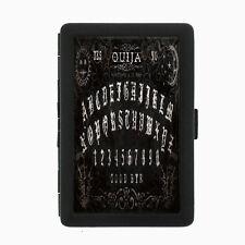 Ouija Board D7 Black Cigarette Case / Metal Wallet Occult Witchcraft Spirits