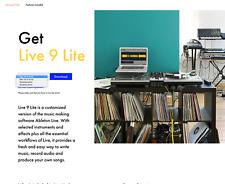 ABLETON  LIVE  9  LITE (Mac + PC, 32 bit + 64 bit), Neu und ungenutzt