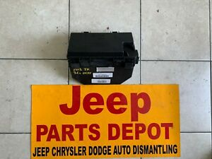 2012 JEEP WRANGLER JKU 3.6L V6  FUSE BOX TIPM 68105503AC OEM