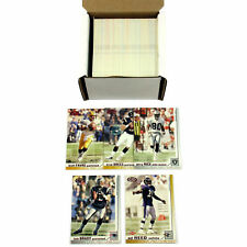 2002 Pacific Heads Update Football Red Parallel Set (1-175)