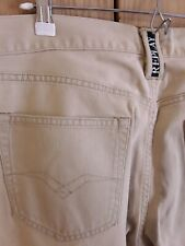 REPLAY Jeans W34 L32 Beige Regular Fit. Excellent condition.