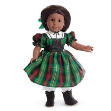 American Girl Addy TARTAN PLAID CHRISTMAS DRESS ribbon dress NO DOLL