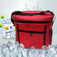 Thermal Cooler Waterproof Insulated Portable Tote Picnic Lunch Bag Storage