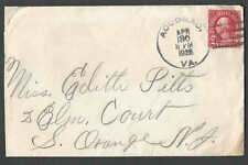 DATED 1926 COVER ACCOMAC VA LETTERS W/5COUPONS FOR COLGATE SOAP TRIMMED AT RIGHT