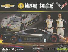 2016 Action Express Racing #5 Chevy Corvette DP IMSA WTSC postcard