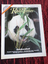 RADIO TIMES -THE EALING STORY  -CARLA LANE- BREAD - 26 APRIL - 2 MAY 1986
