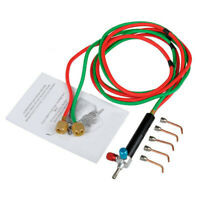 Micro-Gas Torch Mini Gas Little Torch Welding Soldering Kit With 5 Tips Weld Q5F