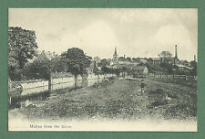 EARLY 1900'S PC MALTON FROM THE RIVER N. YORKSHIRE