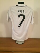 Real Madrid Local Camisa 2008/09 * 7 * Medio Vintage Raro Raul