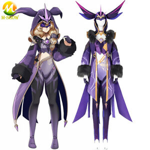 Genshin Impact Fatui Electro Cicin Mages Cosplay Cotume Halloween Game Suit