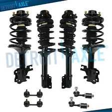 For 1993-1996 1997 1998 1999 Nissan Altima Front & Rear Struts & Spring Sway Bar