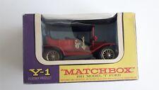 Matchbox 1911 Model T Ford nr. Y-1