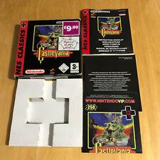 Nintendo GameBoy BOX + MANUAL Only - Castlevania Nes Classics