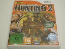 !!! NINTENDO Wii SPIEL North American Hunting 2 Extravaganza o. Anl. GUT !!!