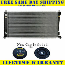 Radiator With Cap For Ford Fits Expedition F150 Mark Lt Navigator 2818WC