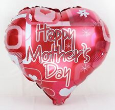 Happy Mother's Day Balloon - Best Mum Ma Mama Mom Mothers Day love heart baloon