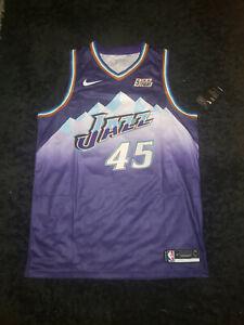 Donovan Mitchell Utah Jazz Nike Purple Classic  Edition jersey size 48