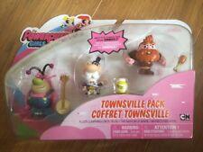 Nuevo Las Chicas Superpoderosas SPINMASTER CARTOON NETWORK figura de acción paquete Townsville