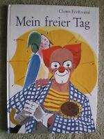 Clown Ferdinand Buch - Mein freier Tag - DDR Kinderbuch