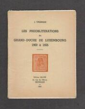 Val 1704 _ Booklet 'Les préoblitérations du Grand-Duche de Luxembourg'