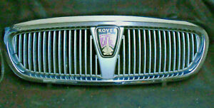 Rover 75 Front Grille & Badge Chrome Affect 1999 -03 DHB102540mmm 0e Good Used.