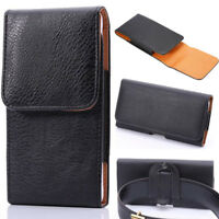 Leather Holster Belt Clip Carrying Case Pouch For iPhone Xs Max Xr 5 6s 7 8 Plus