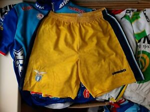 Lazio Umbro Third football Shorts 1996/1998 Size XL Yellow Italy Vintage