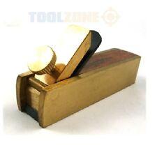 HOBBY Mini Bull Naso Piano Blocco Pialla per (in ottone & legno di palissandro) carpenteria strumento per fai da te