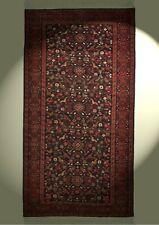 Feiner  Belutsch Orient-Teppich Iran 186x99cm handgeknüpft Wolle Vogel Motive