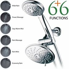 HotelSpa® 1431 Ultra-Luxury 30-Setting 3-Way Rainfall Shower Head Combo