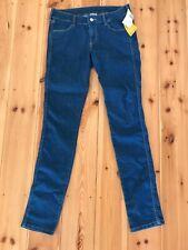 NEW W/ Tags - H&M Blue (Denblu) Wash Skinny Jeans Denim - Low Waist Size 28/32