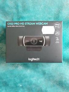 Logitech C922 HD Stream Webcam