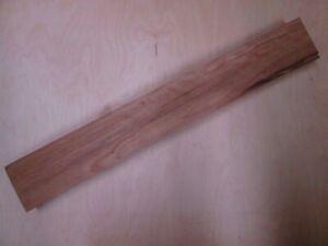 TOP schöne Birne Birnbaum Halskantel 75,5x10,5x4,8cm Tonholz Gitarre neck 55