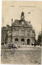 France Paris - Mairie du XXe Arrondissement old postcard
