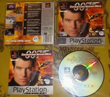 007 TOMORROW NEVER DIES - PlayStation 1 PS1 Gioco Game  Play Station PSX