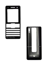 Fassade / Hülle / Cover (schwarz) ~ sony Ericsson K770