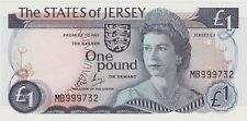 More details for p11c jersey one pound banknote in mint condition issued between 1976 to 1988