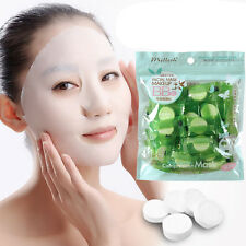 30pcs Lady Skin Care DIY Face Facial Compressed Dry Mask Paper Beauty!